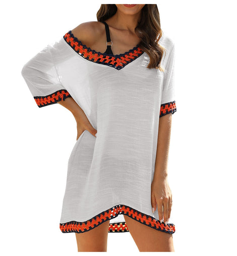 Festival Wear Bohemian Swimsuit Cover-Up Dress