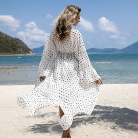 Classy & Timeless Chiffon Beachwear Cover-Up