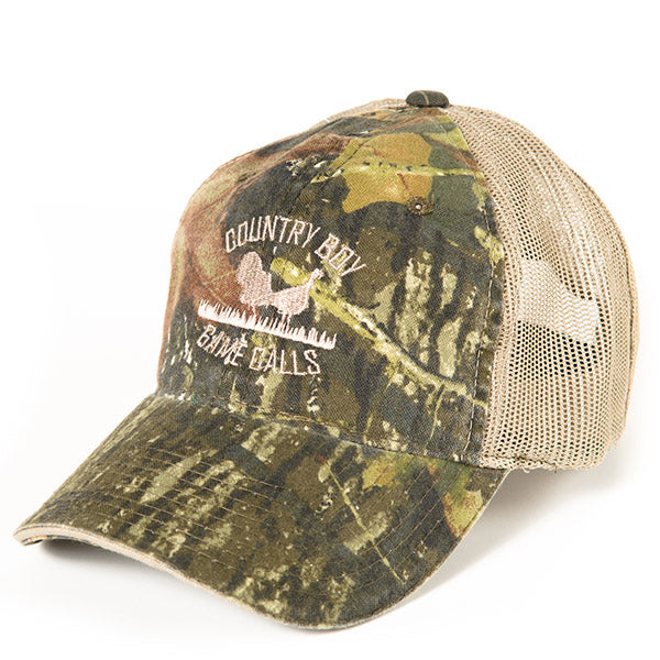Mesh Back – Mossy Oak Break-up