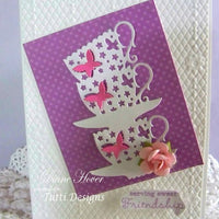 TUTTI-110 Stacked Butterfly Cups
