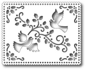 TUTTI-372 Holiday Dove Tapestry