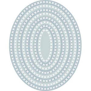 TUTTI-409 Cross Stitch Nesting Ovals