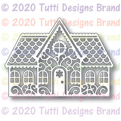 TUTTI-643 Gingerbread House