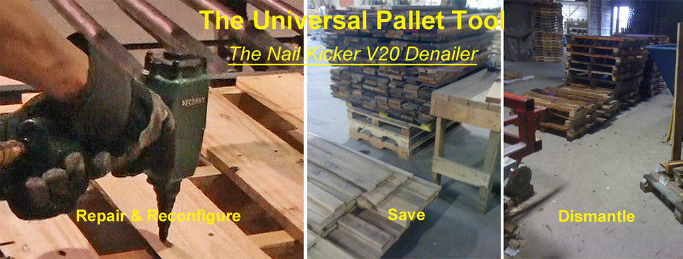 Pallet Repair, Rebuilding and dismantling