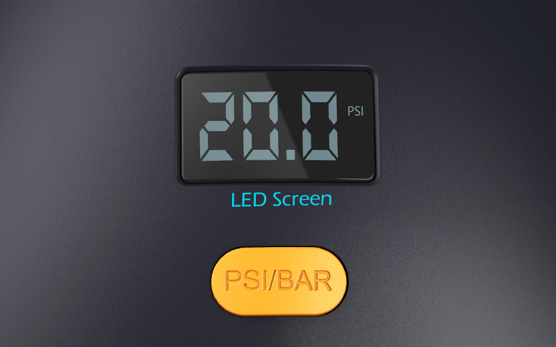 DIGITAL DISPLAY WITH REAL TIME PRESSURE MONITORING