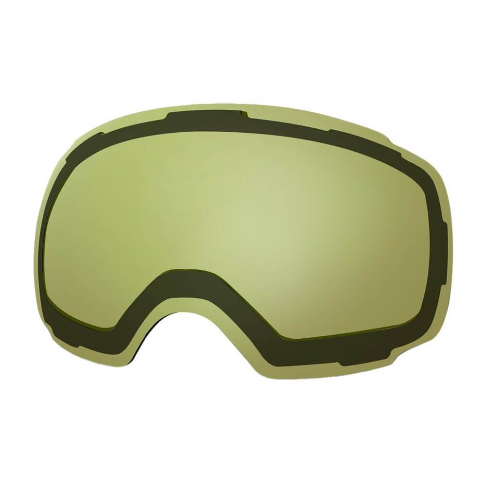 REPLACEMENT LENS BASIC - For Goggles Pro Series - 20+ Different Lens - 100% UV400 Protection OutdoorMasterShop VLT 91% Yellow