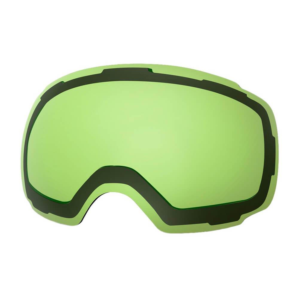 REPLACEMENT LENS BASIC - For Goggles Pro Series - 20+ Different Lens - 100% UV400 Protection OutdoorMasterShop VLT 80% Light Green