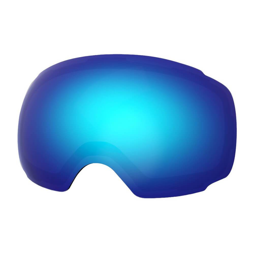 REPLACEMENT LENS BASIC - For Goggles Pro Series - 20+ Different Lens - 100% UV400 Protection OutdoorMasterShop VLT 15% Blue Lens