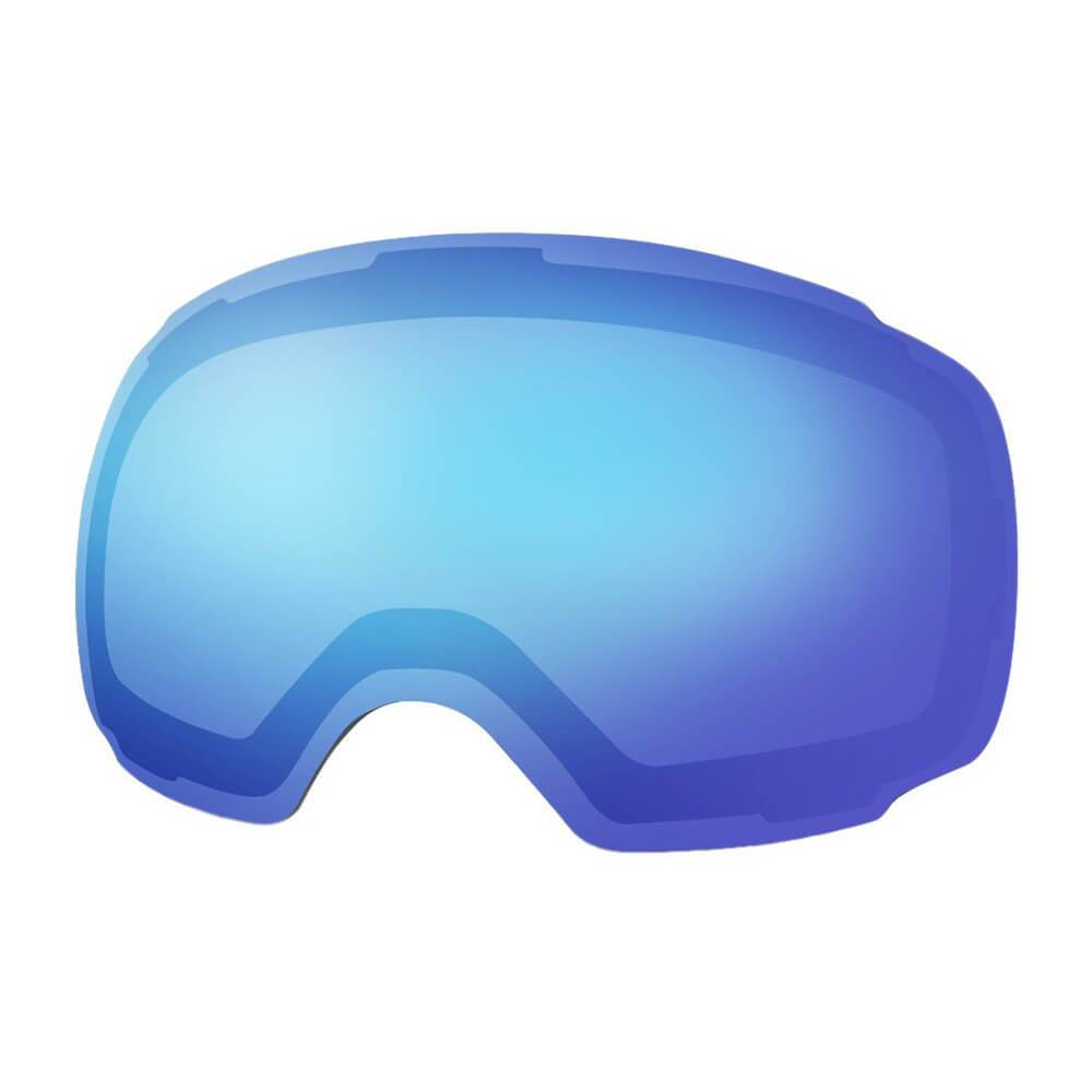 REPLACEMENT LENS BASIC - For Goggles Pro Series - 20+ Different Lens - 100% UV400 Protection OutdoorMasterShop VLT 38% Blue Lens