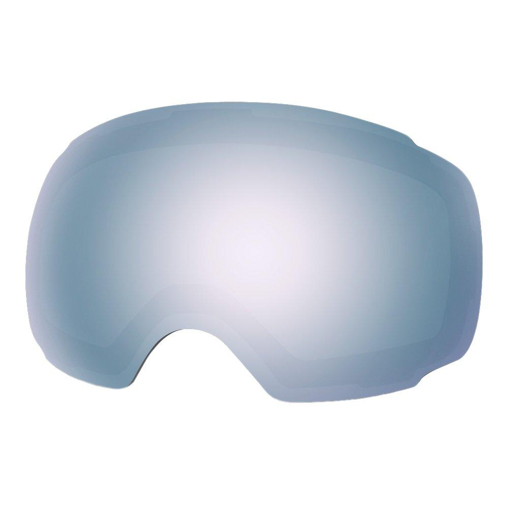 REPLACEMENT LENS BASIC - For Goggles Pro Series - 20+ Different Lens - 100% UV400 Protection OutdoorMasterShop VLT 12% Sapphire Lens