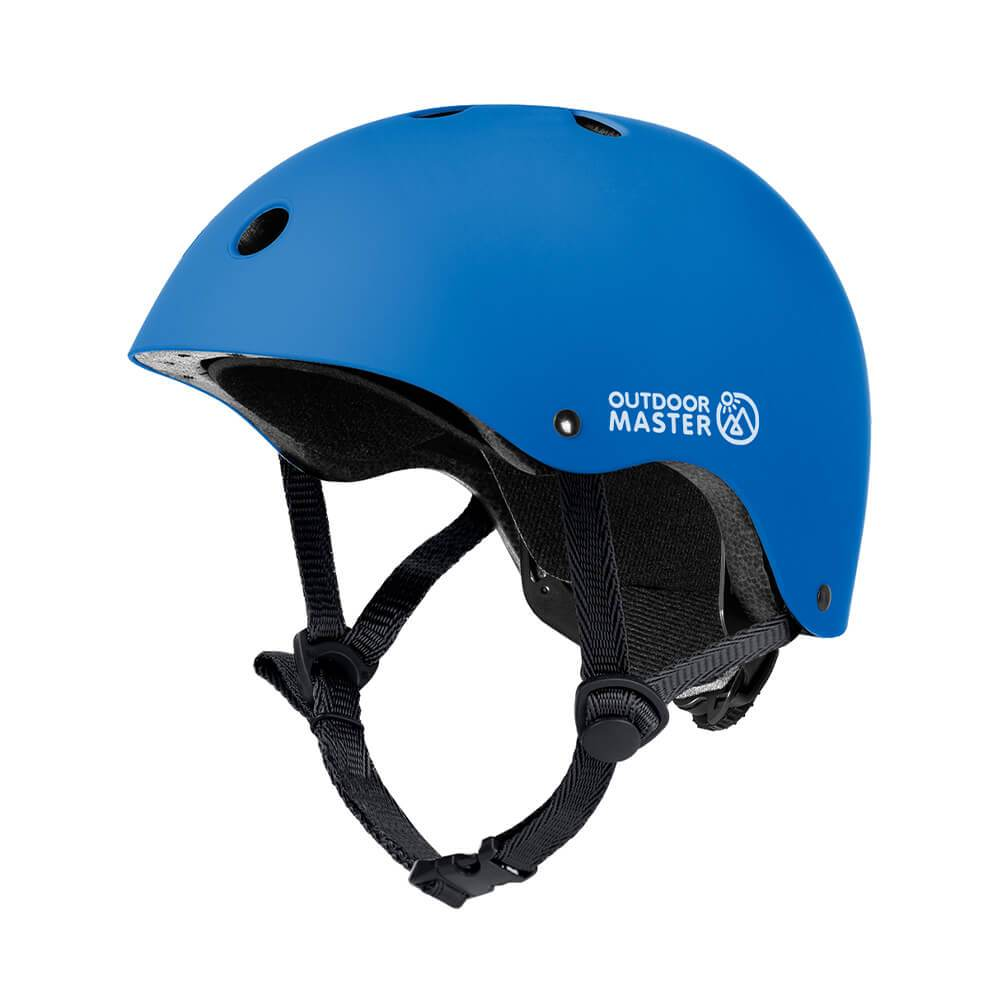 KIDS SKATEBOARD HELMET OutdoorMaster Blue S