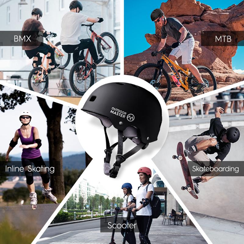 SPRING BUNDLE SALES - SKATEBOARD HELMETS Bundle OutdoorMaster