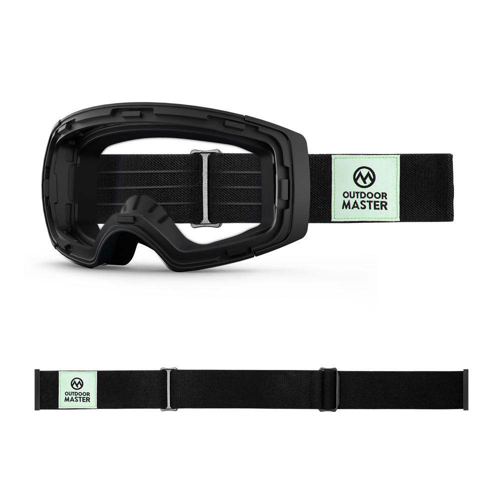 Outdoormaster ECO Friendly Goggles Frame & Strap - Limited Edition Not Including Lens OutdoorMaster CLASSIC BAMBOO STRAPS