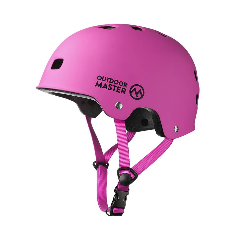 MULTISPORT HELMET - with ASTM & CPSC Certified Safety OutdoorMasterShop Pink S
