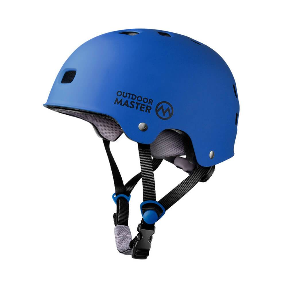 MULTISPORT HELMET - with ASTM & CPSC Certified Safety OutdoorMasterShop Deep Blue L