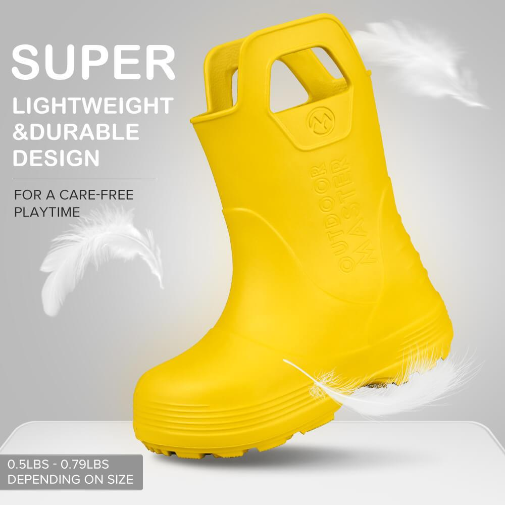 KIDS TODDLER RAIN BOOTS OutdoorMasterShop