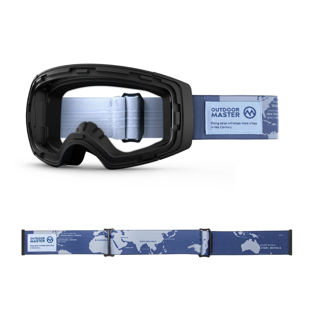 Outdoormaster ECO Friendly Goggles Frame & Strap - Limited Edition Not Including Lens OutdoorMaster THE DISAPPEARING PLACES