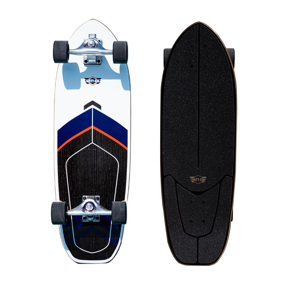 "Sixty-Six Surf SkateBoard - Superfish S-POR 30"" OutdoorMaster Captain"