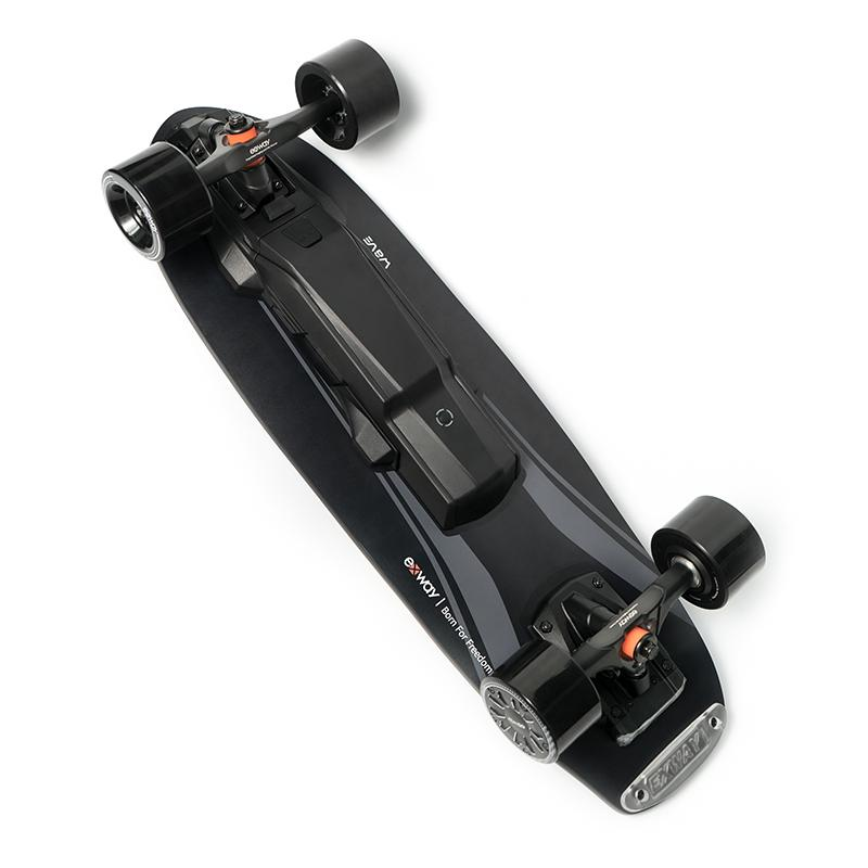 EXWAY WAVE ELECTRIC SKATEBOARD - Up to 23 Mph & 15 Miles Range OutdoorMaster