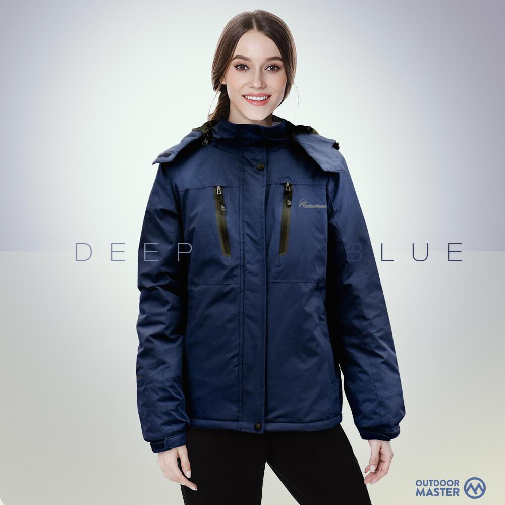 WOMEN'S 3-IN-1 OUTDOOR JACKET OutdoorMasterShop