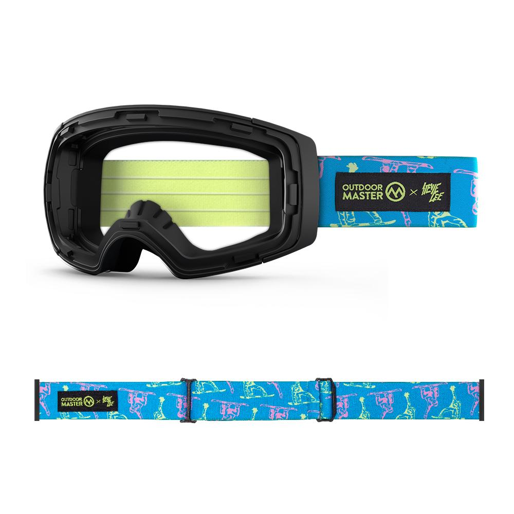 Outdoormaster x Stevie Gee Goggles Frame & Strap - Limited Edition Not Including Lens OutdoorMaster MOUNTAIN PLAYGROUND