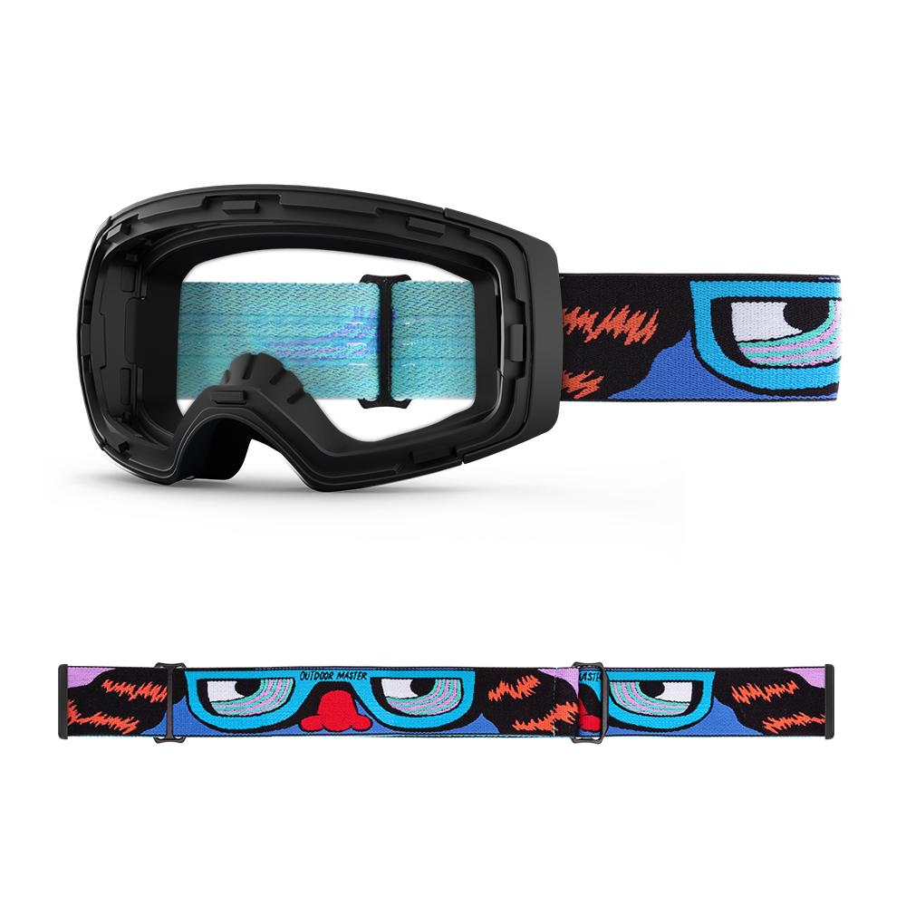 Outdoormaster x Stevie Gee Goggles Frame & Strap - Limited Edition Not Including Lens OutdoorMaster X-RAY EYES