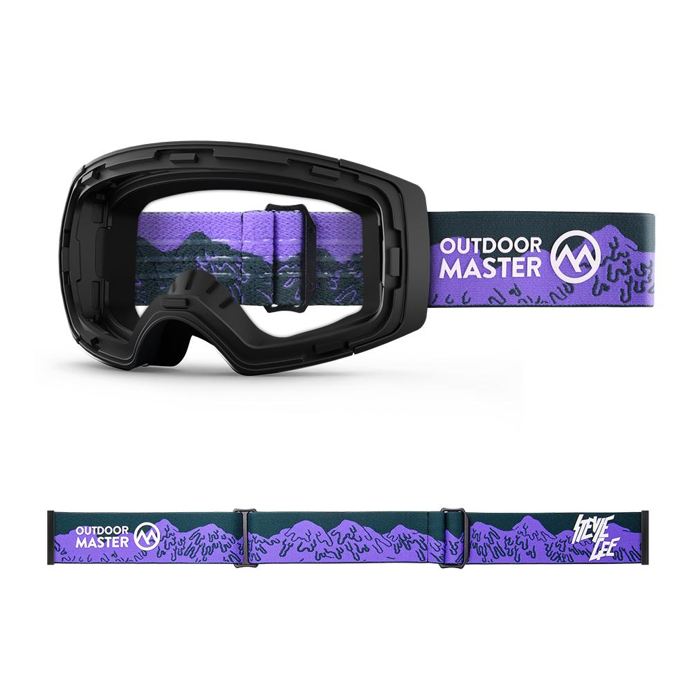 Outdoormaster x Stevie Gee Goggles Frame & Strap - Limited Edition Not Including Lens OutdoorMaster MELTDOWN
