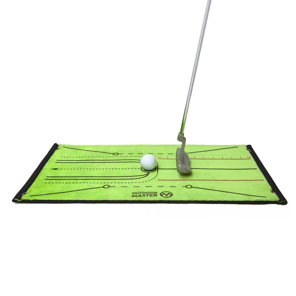 MULTIFUNCTIONAL GOLF HITTING MAT - Instant Feedback for Golf Training OutdoorMaster
