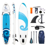 Chasing Blue SUP Boards Single & Double Layer Material Available is $127 (23% off)