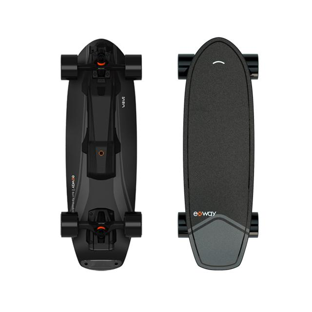 EXWAY WAVE ELECTRIC SKATEBOARD - Up to 23 Mph & 15 Miles Range OutdoorMaster Wave-Hub