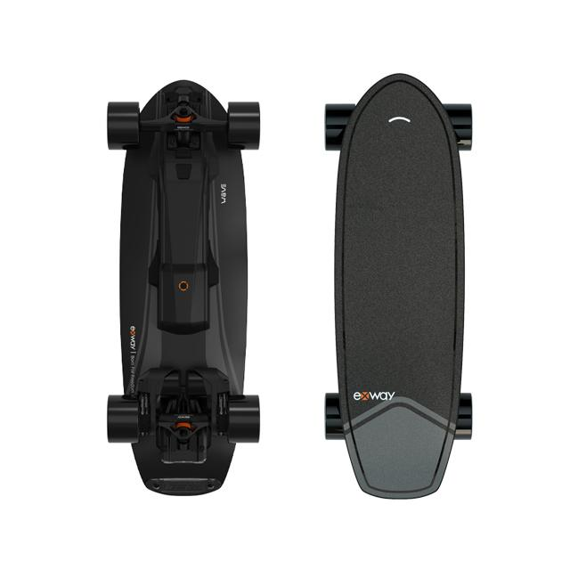EXWAY WAVE ELECTRIC SKATEBOARD - Up to 23 Mph & 15 Miles Range OutdoorMaster Wave-Riot