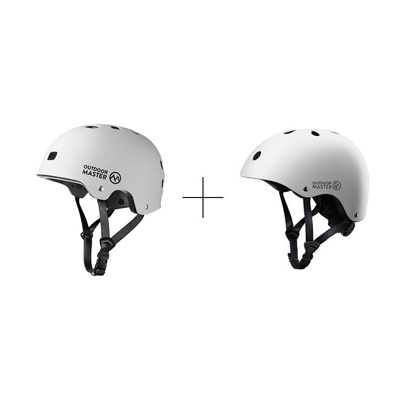 SPRING BUNDLE SALES - SKATEBOARD HELMETS Bundle OutdoorMaster White S S