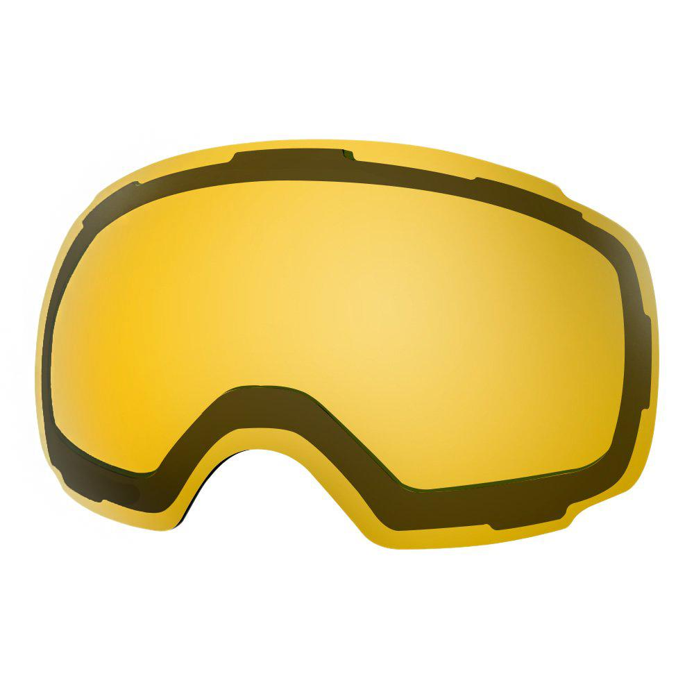 REPLACEMENT LENS BASIC - For Goggles Pro Series - 20+ Different Lens - 100% UV400 Protection OutdoorMasterShop VLT 75% Yellow - Polarized