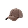 Casquette baseball jean homme chocolat