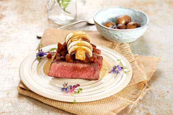 Beef fillet and mushroom