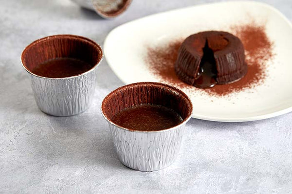 Cook at home chocolate fondant