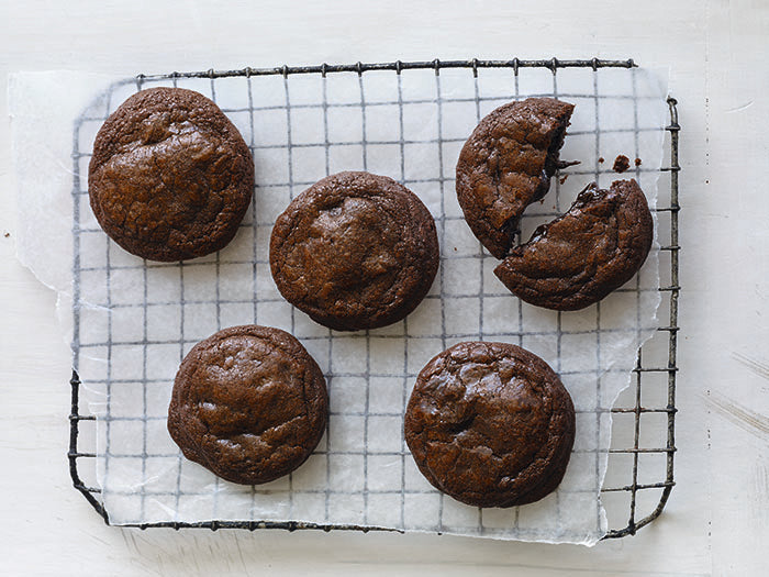 Guittard molten chocolate cookies