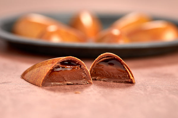 Vegan pear william caramels
