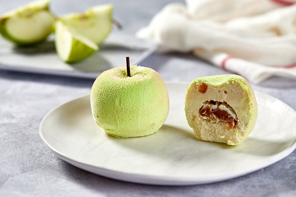 Gelato toffee apples