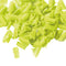Barbara Decor | White chocolate lime coloured & flavoured blossom curls | 1kg
