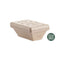 Polo Plast | 750ml compostable thermic brown tub | 140 pieces