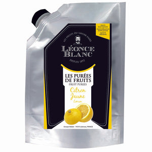Lemon fruit puree