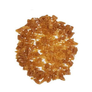 Caramel flavour toffee pieces (2 - 10mm)