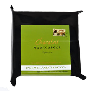Madagascar Vegan milk chocolate 40% block