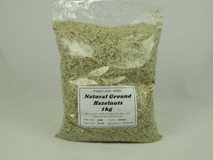 Ground hazelnuts