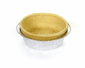 Quiche tart with foil tray (11cm)