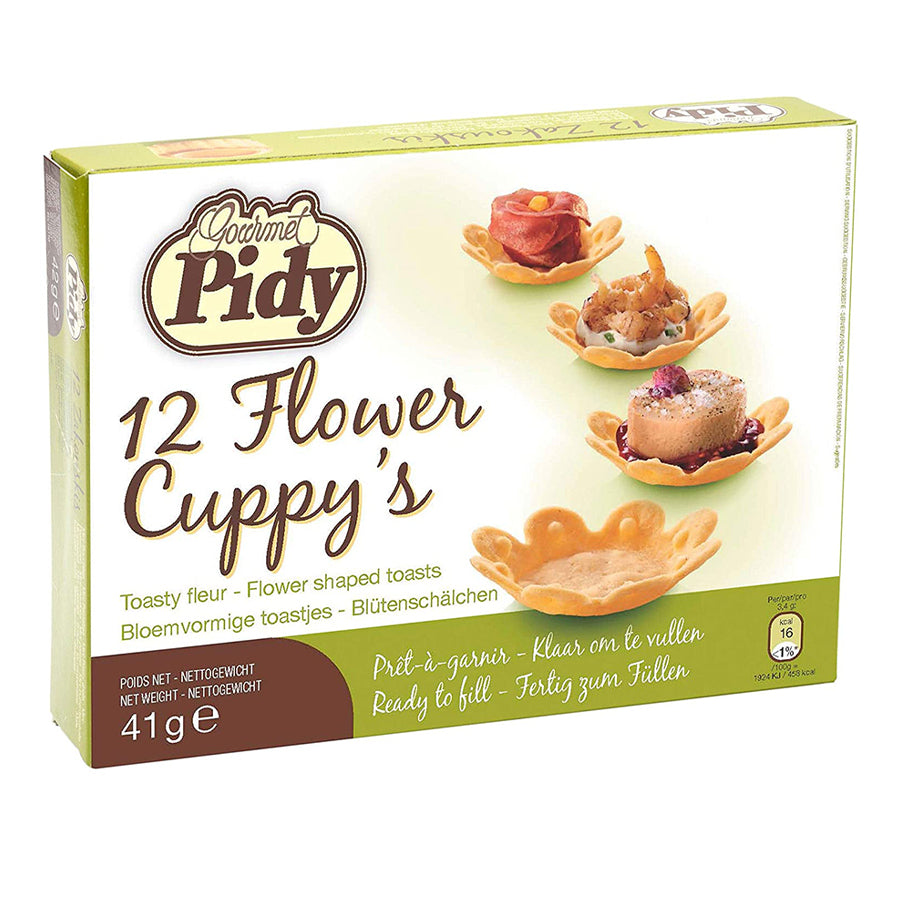Pidy flower cuppys packaging