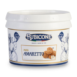 Rubicone Amaretto Flavour paste packaging