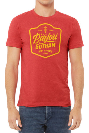 Bayou Gotham Logo T-Shirt (Red)