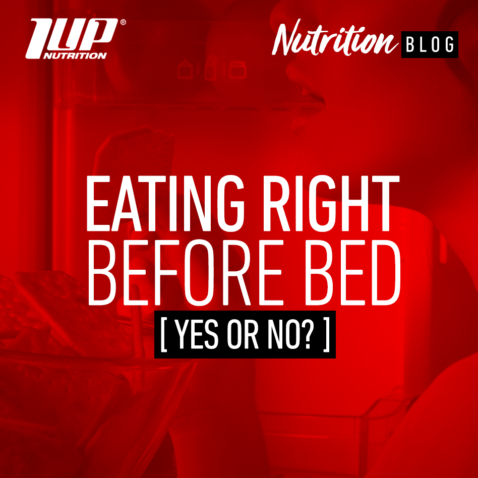 eating right before bed [ yes or no? ]